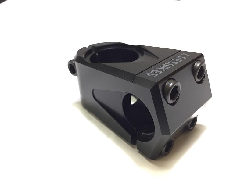 ARESBIKES - AG STEM V4 / ブラック / 軽量 アーレス BMX フラットランド キッズにもおすすめ ステム