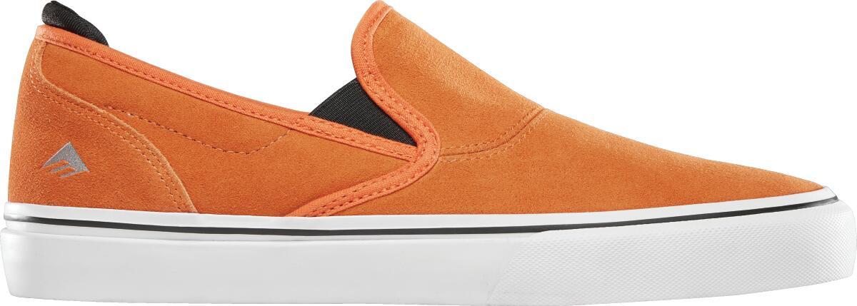 Emerica - WINO G6 SLIP-ON X BRONSON / orange / エメリカ BMX スケート スケシュー SHOES 靴 シューズ