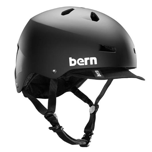 bern - MACON VISOR ALL SEASON JAPANFIT マットブラック / バーン メーコン BMX スケート ヘルメット