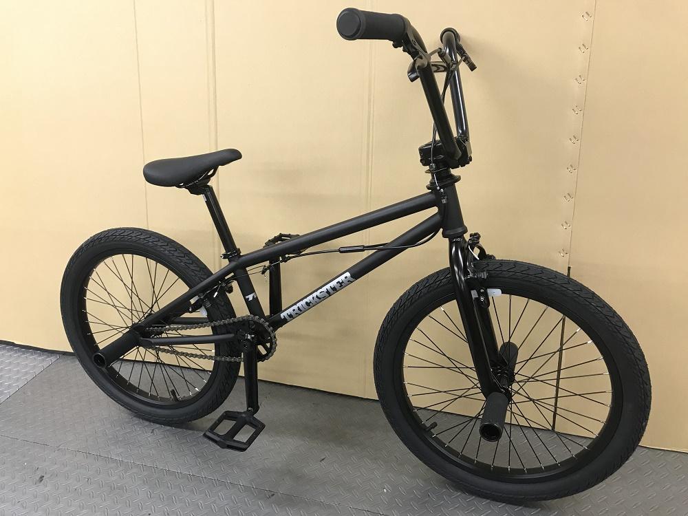 TNB - TRICK STAR / マットブラック / ティーエヌビー トリックスター フラットランド BMX 自転車 完成車
