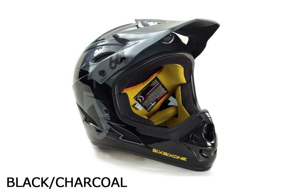 【10%OFF】【送料無料】SIXSIXONE / 661 COMP FULLFACE HELMET 2015 / BMX パーク レース MTB ダウンヒル フルフェイスヘルメット