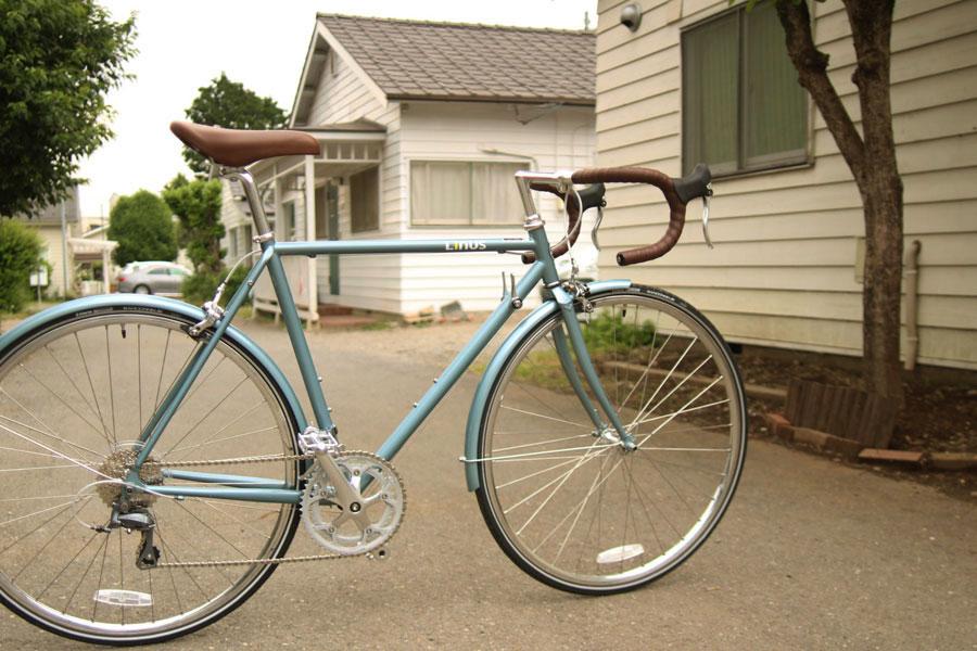 【送料無料】 LINUS BIKES - LIBERTIN 16 SPEED スティールブルー / ライナス リバティーン ロードバイク ランドナー ツーリング