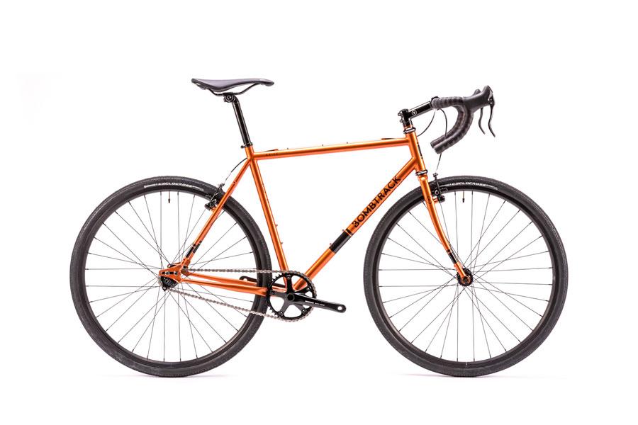 【送料無料】2016 BOMBTRACK - ARISE オレンジ / シクロクロス ロードバイク ツーリング シングルスピード 多段化OK