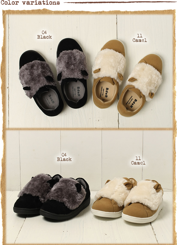 Child / Childrenu0027s Clothes Going To Kindergarten Attending School Sneakers  980 96,014 Of The Fur Sneakers / Miscellaneous Goods /BEBE べべ /bebe ベベ ...
