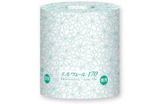 【送料無料】エルヴェール トイレットティッシュ シングル170m個包装<芯なし>48パック【トイレットペーパー】【大王製紙】