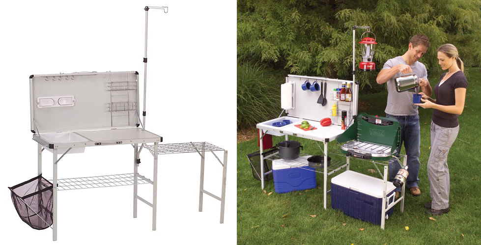 coleman camping kitchen with sink board cooker rakuten global market japan 未発売 products 8244