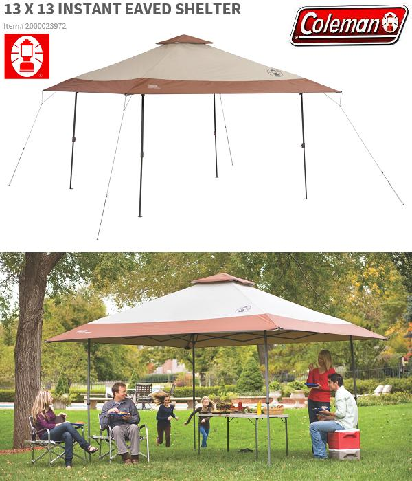 ■ Japan 未発売 products ■ COLEMAN ■ INSTANT CANOPY 13 x 13 ■ Coleman shade ■