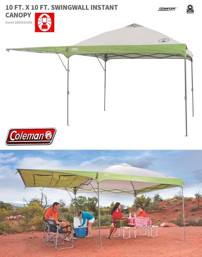 Japan ??? products ? COLEMAN SWINGWALL INSTANT CANOPY 10 x 10 canopy ? ? Coleman shade ?  sc 1 st  Rakuten & board-cooker: ? Japan ??? products ? COLEMAN SWINGWALL INSTANT ...