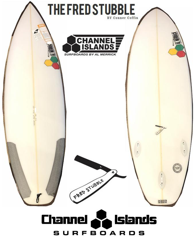 AL MERRICK アルメリック サーフボード FRED STUBBLE 2TAB 3FIN FCS■5'10■CHANNEL ISLANDS