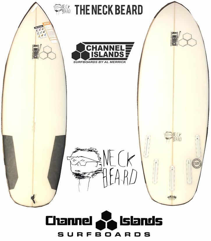 AL MERRICK アルメリック サーフボード THE NECK BEARD FUTURE 5FIN■5'7■CHANNEL ISLANDS
