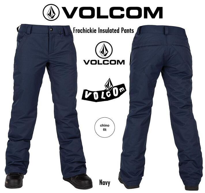 VOLCOM 2020 FROCHICKIE INS PANT NAVY ボルコム スノボーウエア