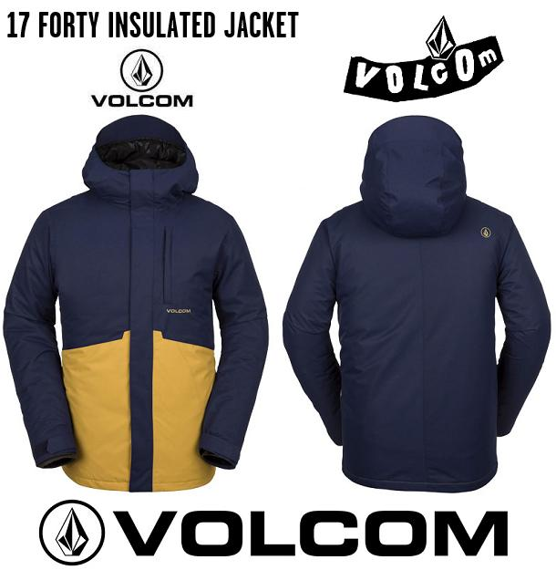 2019 VOLCOM 17 FORTY INS JACKET NVY ボルコム スノボーウエア