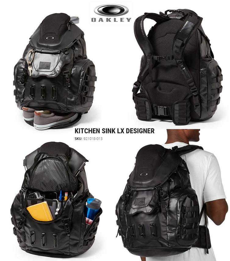 Oakley Kitchen Sink 2018 OAKLEY Oakley backpack KITCHEN SINK LX DESIGNER □ Japan having not yet  occurred For Sale □□ BAG □ rucksack □ BACKPACK □ back □ kitchen sink ...