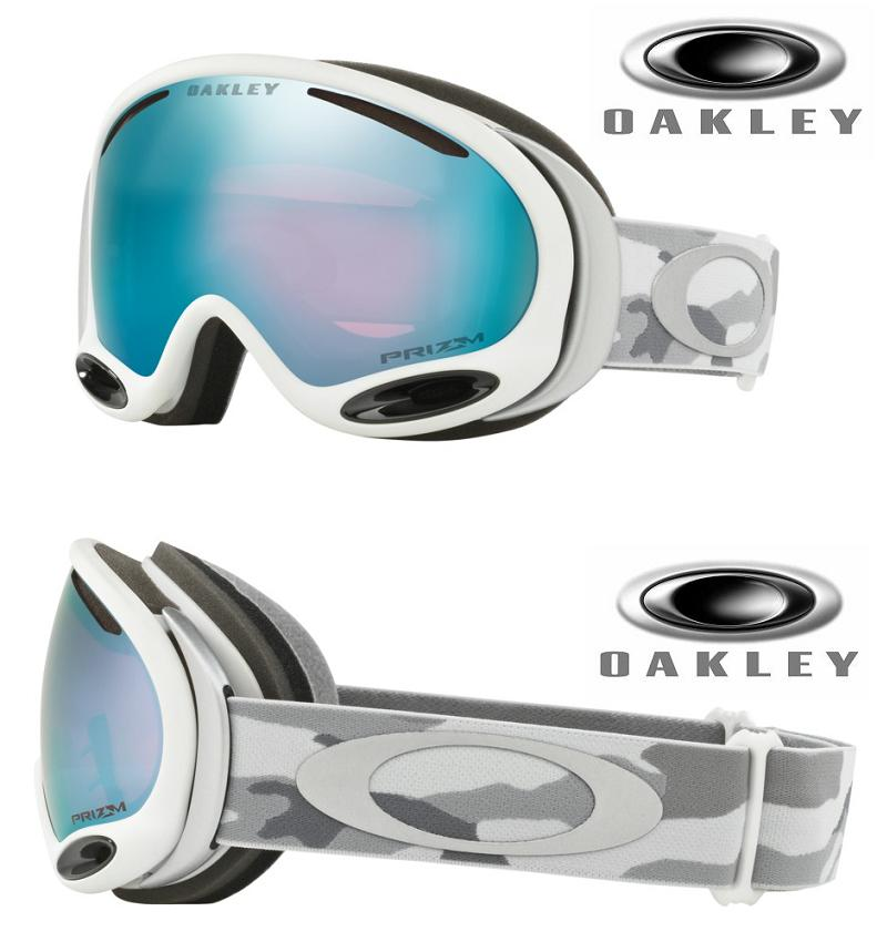 APAN-FIT 2018 OAKLEY オークリー ゴーグル A-FRAME 2.0 SNOW CAMO PRIZM SAPPHIRE■OO7077-14■