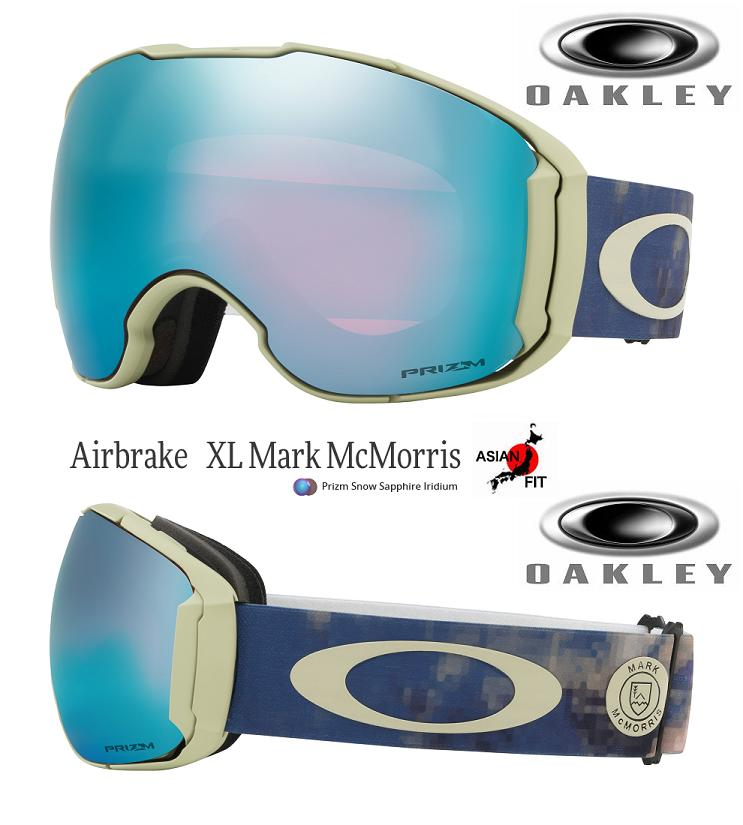 efae7e9c14 JAPAN-FIT □ 2018 □ OAKLEY AIRBRAKE XL MARK MCMORRIS PRIZM SAPPHIRE □  OO7078-20□ Japan fitting □ air break XL □ Oakley □ goggles □ SIGNATURE□
