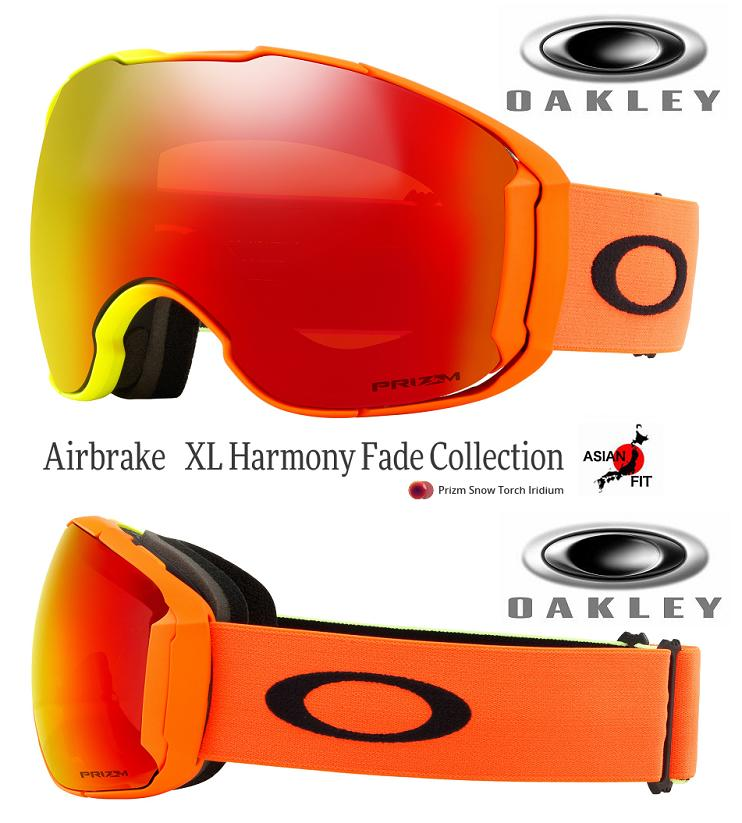 fb3d96d0c8 JAPAN-FIT □ 2019 □ OAKLEY AIRBRAKE XL HARMONY FADE PRIZM TORCH □ OO7078-21□  Japan fitting □ air break XL □ Oakley □ goggles □ TEAM COLLECTION□