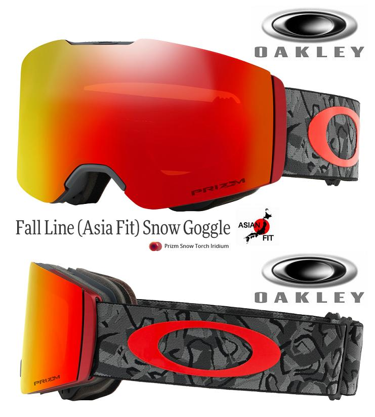 e129aef41f JAPAN-FIT □ 2019 □ OAKLEY FALL LINE CAMO VINE NIGHT PRIZM TORCH □  OO7086-15□ Japan fitting □ free throw line □ Oakley □ goggles□