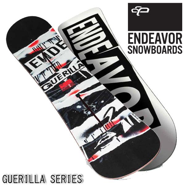 【特典付きSALE】15-16 ENDEAVOR / エンデバー GUERILLA グラトリ メンズ スノーボード 板 2016 型落ち