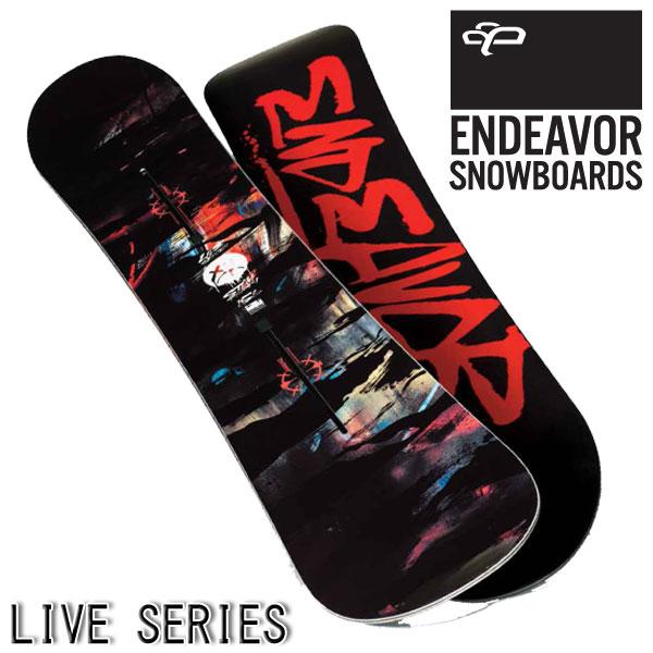 【特典付きSALE】15-16 ENDEAVOR / エンデバー LIVE オールラウンド メンズ スノーボード 板 2016 型落ち
