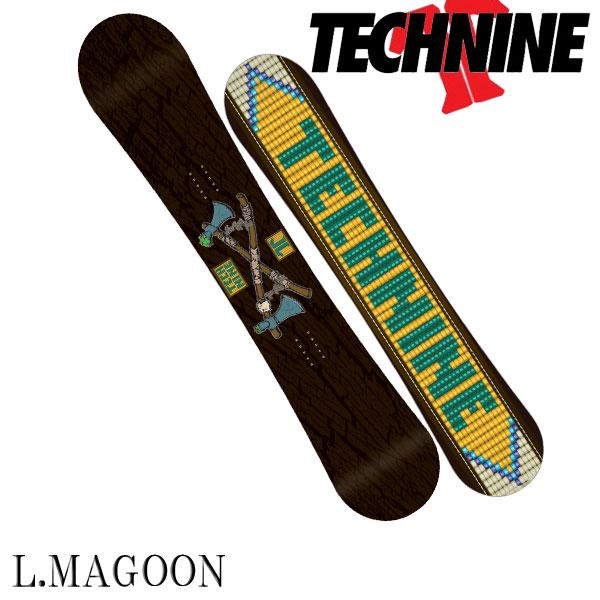 【特典付きSALE】15-16 TECHNINE / テックナイン LM PRO MAGOON オールマウンテン メンズ スノーボード 板 2016 型落ち