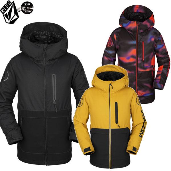 スノーボード キッズ 子供用 ウエア ジャケット ボルコム 雪山用 キッズ ユース 子供 VOLCOM HOLBECK INS jacket 2019-2020  予約商品