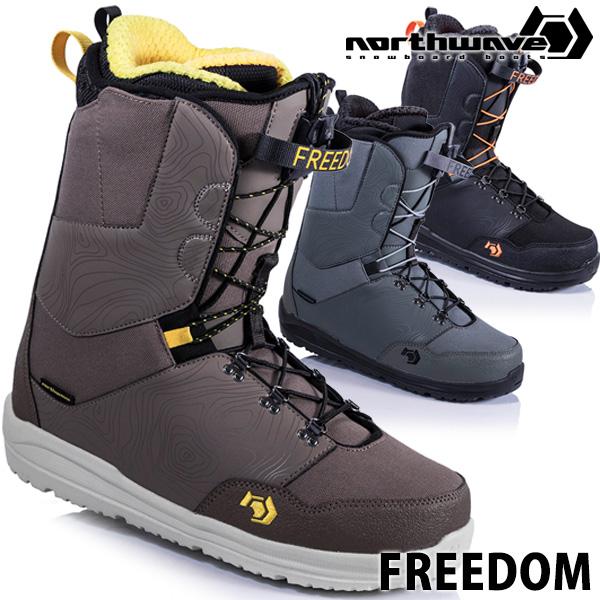 18-19 NORTHWAVE / ノースウェーブ FREEDOM フリーダム メンズ ブーツ スノーボード 2019