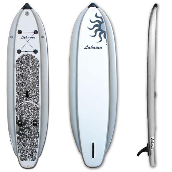 【送料無料】SUP サップ インフレータブルパドルボード ラハイナフィッシング / LAHAINA NEW FISHING2 12'0 釣り用SUP グレイ ホワイト スタンドアップパドルボード