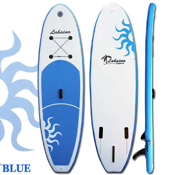 【送料無料】SUP サップ インフレータブルパドルボード ラハイナ / LAHAINA SUP 10'0 ブルー/ホワイト サップ オールラウンダー スタンドアップパドルボード
