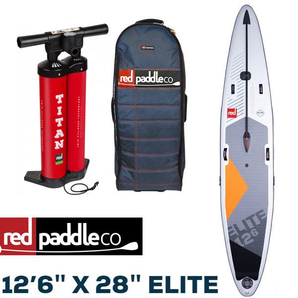 スタンドアップパドルボード レッドパドル エリート SUP サップ Red Paddle ELITE 12'6″ X 28″ 2020 予約商品