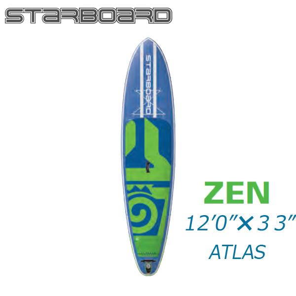 特別オファー 【送料無料】2017 STARBOARD 12'0 X 33 X 4.75 ATLAS ZEN / スターボード アトラス ゼン インフレータブル パドルボード SUP サップ, 川崎村 5f18fcfd