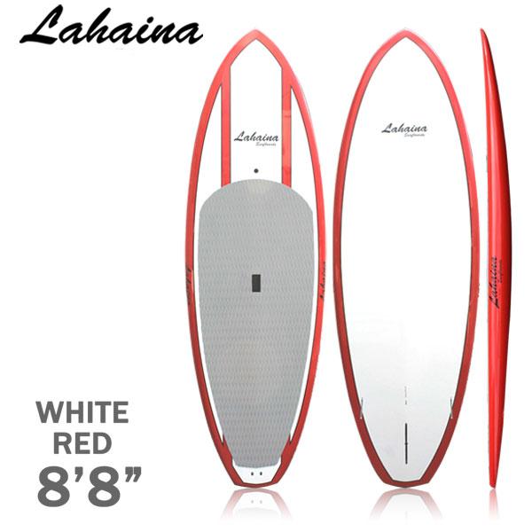 スタンドアップパドルボード サップボード SUP 単品 赤 サップボード LAHAINA/ラハイナ 8'8