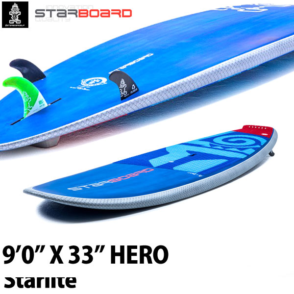 スタンドアップパドルボード スターボード ヒーロー スターライト SUP サップ パドルボード 大人 STARBOARD 9'0X33 HERO STARLITE 2019 取寄せ商品