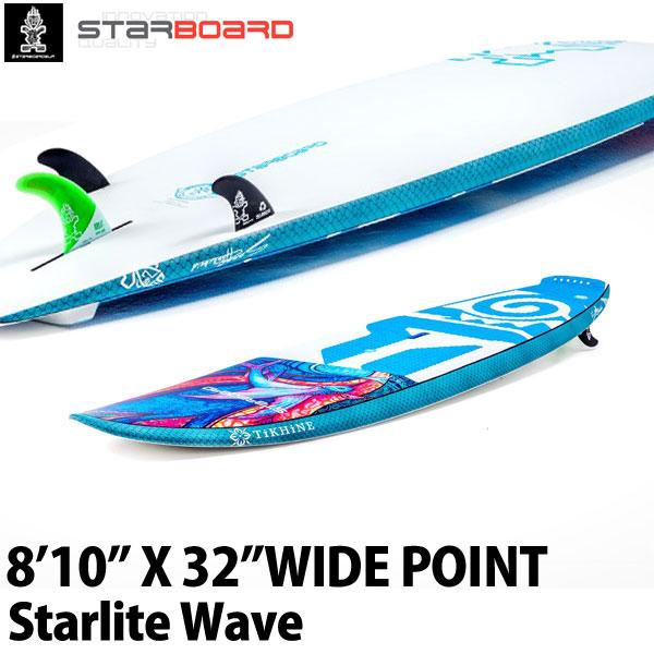 スタンドアップパドルボード スターボード ワイドポイント スターライト ウェーブ SUP サップ パドルボード 大人 STARBOARD 8'10X32 WIDE POINT STARLITE WAVE 2019 取寄せ商品