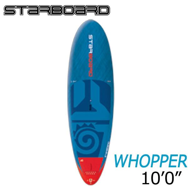 【送料無料】2018 STARBOARD 10'0X34 WHOPPER CARBON BALSA スターボード ワッパー SUP パドルボード お取り寄せ商品 営業所止め