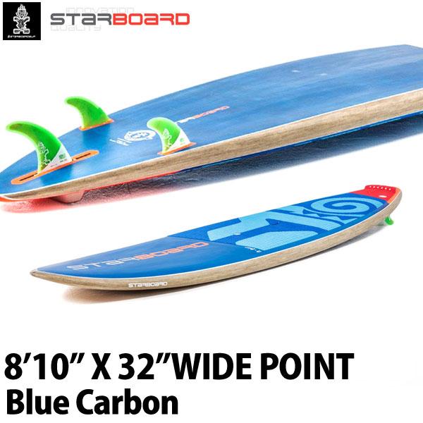 【送料無料】2018 STARBOARD SUP 8'10X32 WIDE POINT CARBON BALSA スターボード ワイドポイント SUP パドルボード お取り寄せ商品 営業所止め