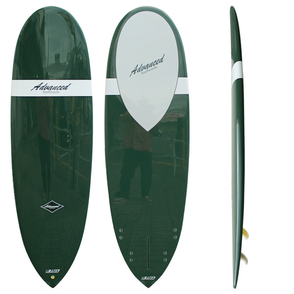 サーフボード ミニロング サーフィン アドバンス / ADVANCED 6'4 EPS A25 営業所止め 送料無料