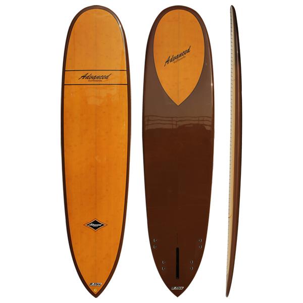サーフボード ミニロング サーフィン アドバンス / ADVANCED 7'9 EPS/BAMBOO A04 4月下旬入荷予定 営業所止め 送料無料 予約商品