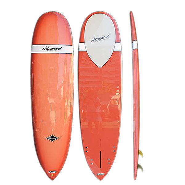 サーフボード アドバンス / ADVANCED ミニロング 7'10 サーフボード 4月下旬入荷予定 営業所止め 送料無料 予約商品