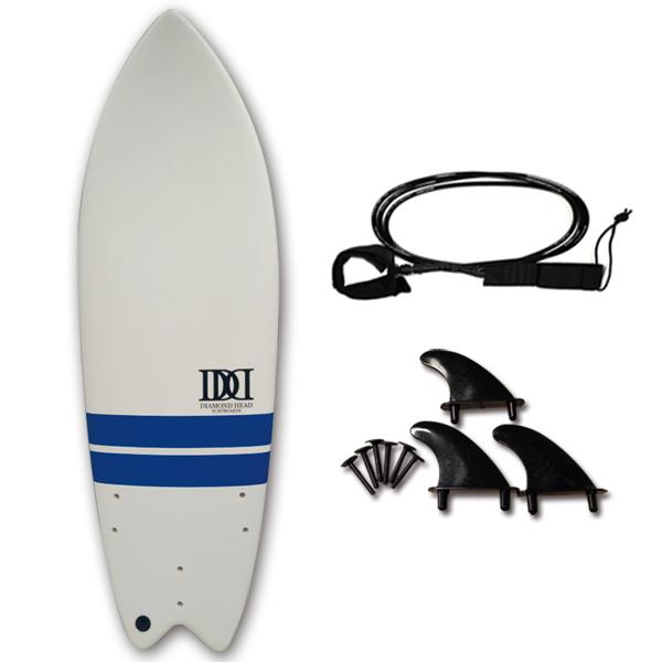 サーフボード ショートボード ダイアモンドヘッド フィッシュ 5'7 サーフィン 大人 子供 DIAMOND HEAD FISH 5'7
