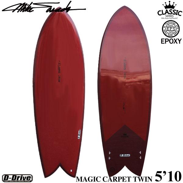 営業所止め サーフボード ショートボード マイクシェイプス マジックカーペットツイン 5'10 サーフィン 大人 子供 MIKE SHAPES MAGIC CARPET TWIN 5'10