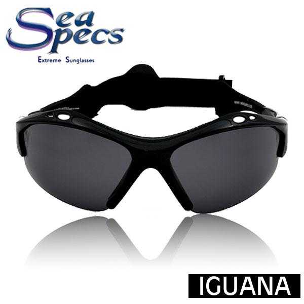 【送料無料】【あす楽対応】 SEA SPECS IGUANA / シースペック ウォータースポーツ用 サングラス ブラック 黒 メンズ レディース UVカット 偏光レンズ