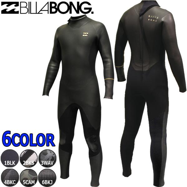 ウェットスーツ ビラボン バックジッパー サーフィン セミドライ フルスーツ BILLABONG BACK ZIPPER 19-20 AJ018-622