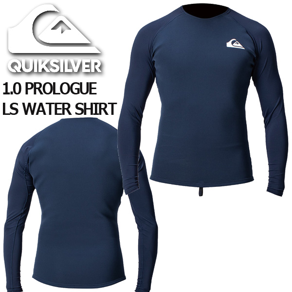 ラッシュガード クイックシルバー プロローグ ロングスリーブ ウォーターシャツ サーフボード ショートボード メンズ QUIKSILVER PROLOGUE LS WATER SHIRT 2020QWT201909