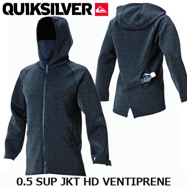 サップジャケット クイックシルバー 0.5 サップフーディー ウエットスーツ SUP 大人 QUIKSILVER 0.5 SUP JKT HD VENTIPRENE 2018 QWT181912