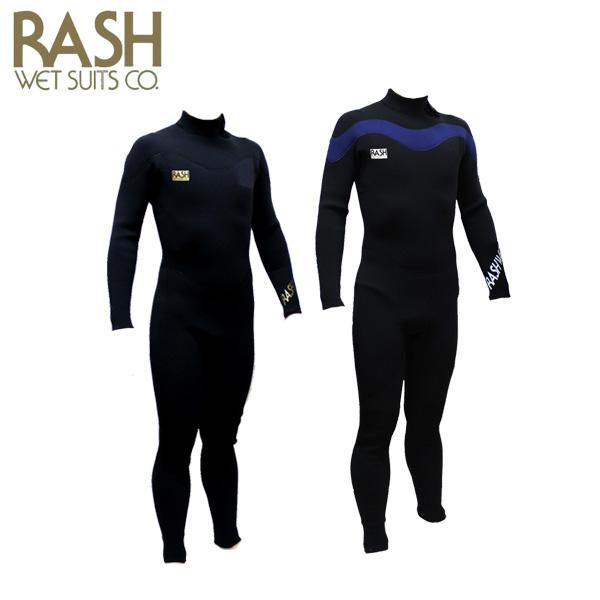 2018 ラッシュ ウエットスーツ ジップ 3.5mmフルスーツ RASH J7 SERIES 春夏用 メンズウェットスーツ