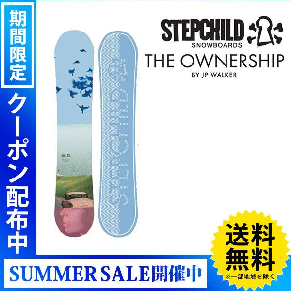 【送料無料】18-19 STEPCHILD/ステップチャイルド THE OWNERSHIP JP WALKER メンズ 板 スノーボード 予約商品 2019