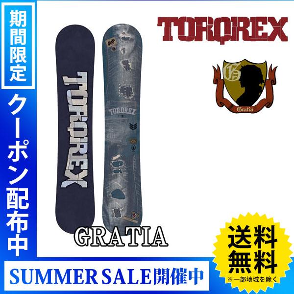 【送料無料】18-19 TORQREX/トルクレックス GRATIA グラトリ メンズ レディース 板 スノーボード 予約商品 2019