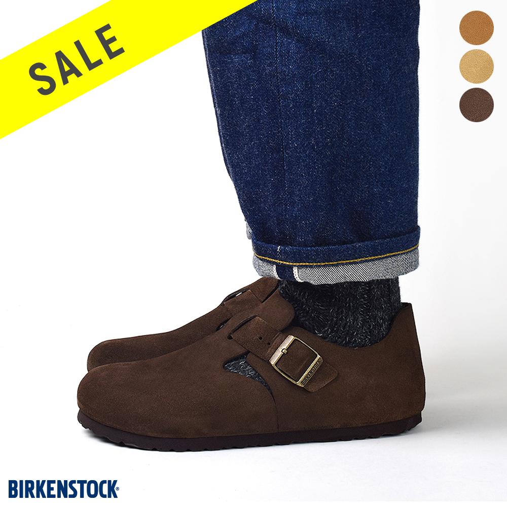 [冬SALE]『 ビルケンシュトック ロンドン 』birkenstock・LONDON・ビルケン・レディース・メンズ・シューズ・コンフォート靴・覆う・スエード・ドイツ・フットベット・ビルケン・ビルケンシュトック・ロンドン