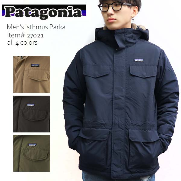Patagonia Isthmus Parka Mens Jacket Coat Industrial Green All Sizes