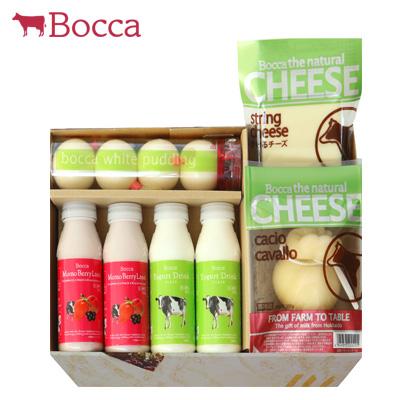 【今だけ送料無料!】【Bocca】プリン、チーズ、ヨーグルト。牧家のおいしさをセットに北海道伊達市の生乳をたっぷり使用した、贅沢な味わいです。 乳製品詰め合わせA【10月送料無料!】